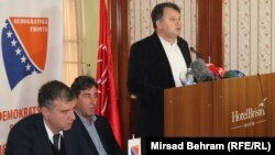 Sa press konferencije u Mostaru, predsjednik SDP-a Nermin Nikšić