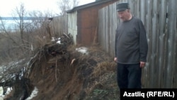 Александр Абрамовның торагына упкын килеп терәлгән диярлек