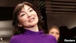 Алма Шалабаева, жена арестованного казахского бывшего банкира и оппозиционного политика Мухтара Аблязова.