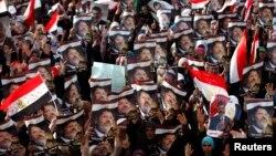 Եգիպտոս - Մուհամեդ Մուրսիի կողմնակիցների բողոքի ցույցը Կահիրեում, 8-ը հուլիսի, 2013թ․