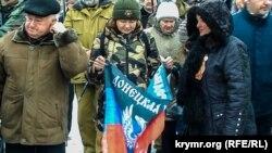 Празднование российского «Дня защитника Отечества» в Севастополе, 23 февраля 2019 года