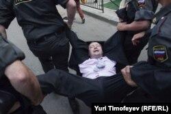 Moskvada icazəsiz aksiya, 27 may 2012