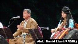 المطرب الكردي المغترب عدنان كريم في حفل بأربيل
