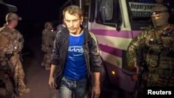 Обмен пленными на востоке Украины