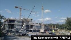 Վրաստան - Քութաիսիի միջազգային համալսարանի շինարարությունը, 19-ը սեպտեմբերի, 2019թ․
