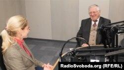 Мар'яна Драч та Іван Грицак у студії Радіо Свобода