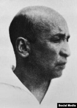 Сталиндик абакта өмүрү мезгилсиз кыйылган аалым Абдурауф Фитрат. 1938.