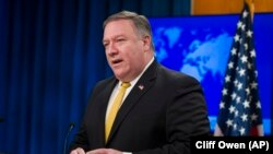 "U.S. Secretary of State Mike Pompeo described the decision as long ""overdue."""