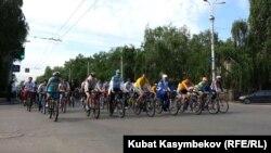 Kyrgyzstan -- Bishkek -- Bike Ride