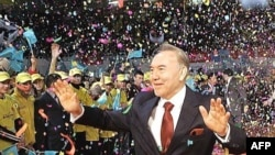 Kazakh President Nursultan Nazarbaev has ruled the country since independence from the Soviet Union.