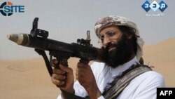 A video grab shows Anwar al-Awlaki, who was killed in a CIA drone strike in September 2011.