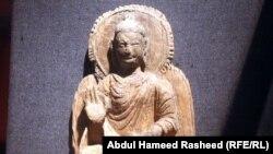 Один из экспонатов Национального музея Афганистана в Кабуле.