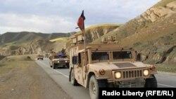 Afghan forces in Badakhshan.