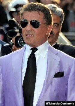 Sylvester Stallone Cannes film festivalında, 2014