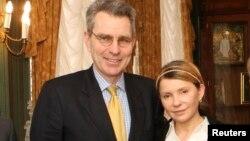 Джеффрі Паййєтт і Юлія Тимошенко, архівне фото