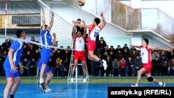 Кыргызстандык волейболчулар.