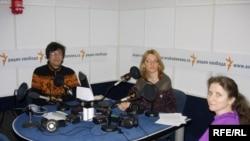 Russia -- scientists Markov Aleksandr, Orlova Olga, Burlak Svetlana in Moscow bureau