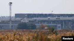 Донецк аэропорти биноси, 2014 йил 1 сентябрь.