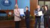 Predsednica RS-a Željka Cvijanović uručuje Orden RS-a premijerki Srbije Ani Brnabić, Banjaluka