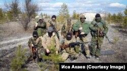 Бійці батальйону «Крим» на позиції