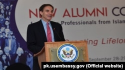 FILE: U.S. Chargé d'Affaires in Pakistan Paul Jones