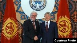 kyrgyzstan--ocse--Steinmeier
