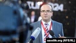 Turon24 agentligining Bosh muharrir o'rinbosari Dilshod Saidjonov.