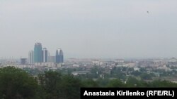 Pamje e kryeqytetiti Grozni në Çeçeni