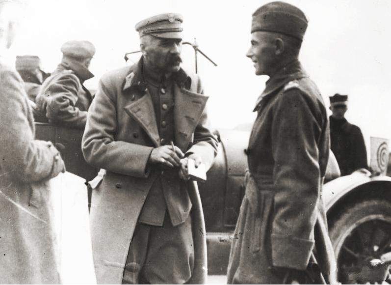 Юзэф Пілсудзкі падчас савецка-польскай вайны ў 1920 годзе