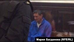 Андрей Бурсин в зале суда