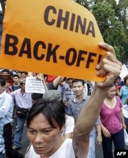 Антикитайские протесты во Вьетнаме. 2014 год
