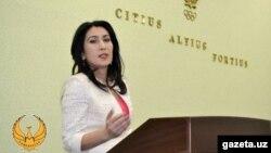 Заррина Абдуллаева – президент Федерации гимнастики Узбекистана. Фото: НОК.