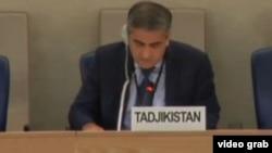 Выступление Джамшеда Хомидова на заседании Совета по правам человека ООН