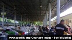 Рынок Кадышева в Ташкенте. Фото взято с сайта AsiaTerra.