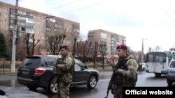 Донецк облусундагы украин аскерлери