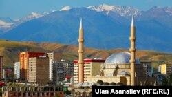 Мечеть в районе Джал в Бишкеке.