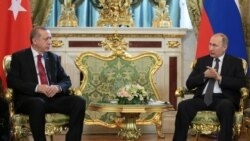 Moskwada Erdogan bilen Putin gepleşik geçirýär