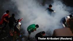 Nga protestat në Irak...