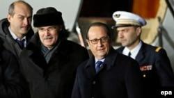 Франсуа Олланд прибуває до Москви, 6 лютого 2015 року