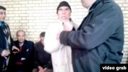 نمایی از عصبانیت فرماندار سابق گلپایگان و تهدید به کتک زدن یک خبرنگار.