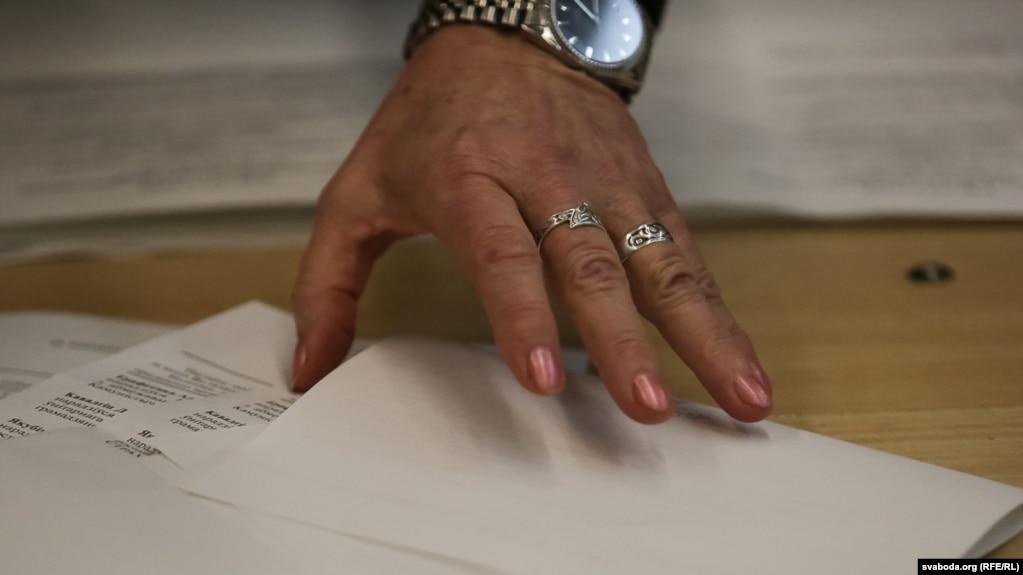 Подсчет голосов на выборах, архивное фото
