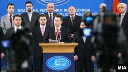 Премиерот Груевски на владина прес конференција