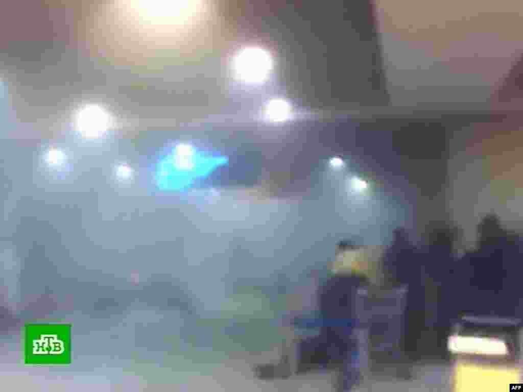 Съемка сразу после теракта