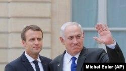 Макрон менен Нетаняху