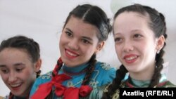 Татар Каргалы мәктәбе укучылары