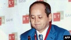 Мухтар Аблязов в бытность председателем совета директоров БТА Банка.