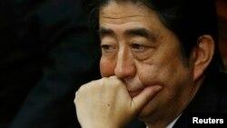 Япония бош вазири Шинзо Абэ.