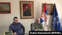 Novica Antić, predsednik sindikata Vojske Srbije, i Veljko Mijailović, predsednik sindikata Policije