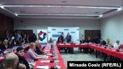 Sa konferencije u Konjicu, foto: Mirsada Ćosić