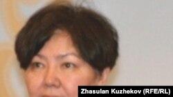 Мадина Жарбусынова, посол по особым поручениям Казахстана на заседании круглого стола по правам человека. Астана, 28 апреля 2011 года.